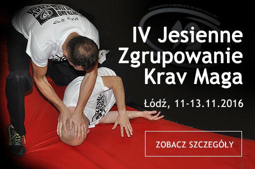 IV Jesienne Zgrupowanie Krav Maga listopad'2016