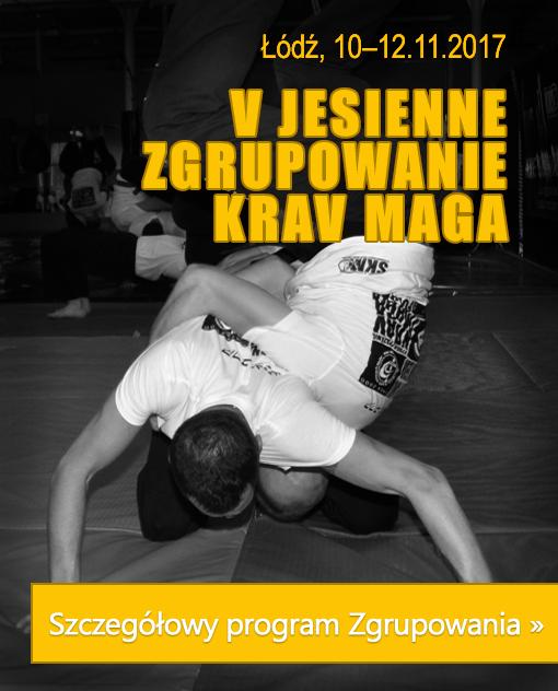 V Jesienne Zgrupowanie Krav Maga listopad'2017